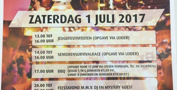 Eindfeest 1 juli