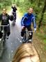 Terugweg op de fiets