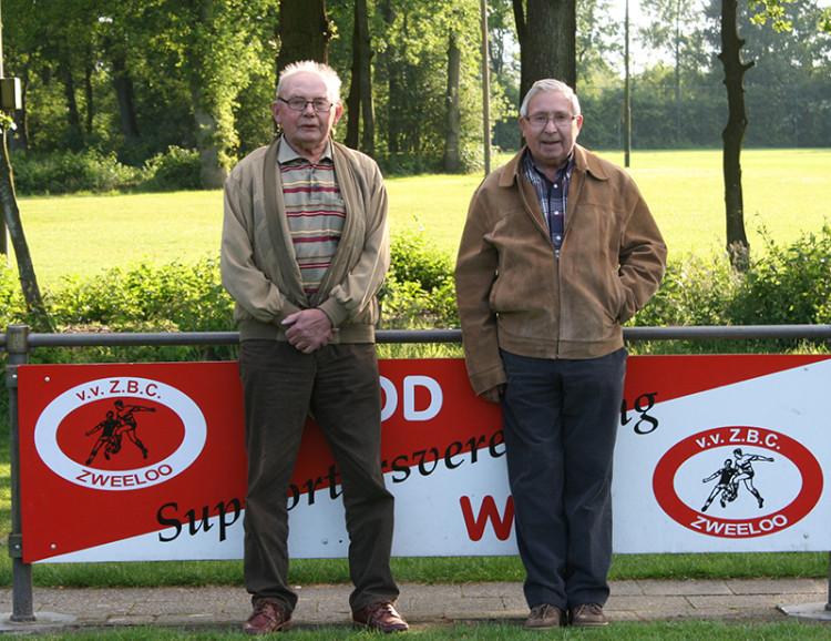 Henk en Lukas beide 75 jaar lid van ZBC