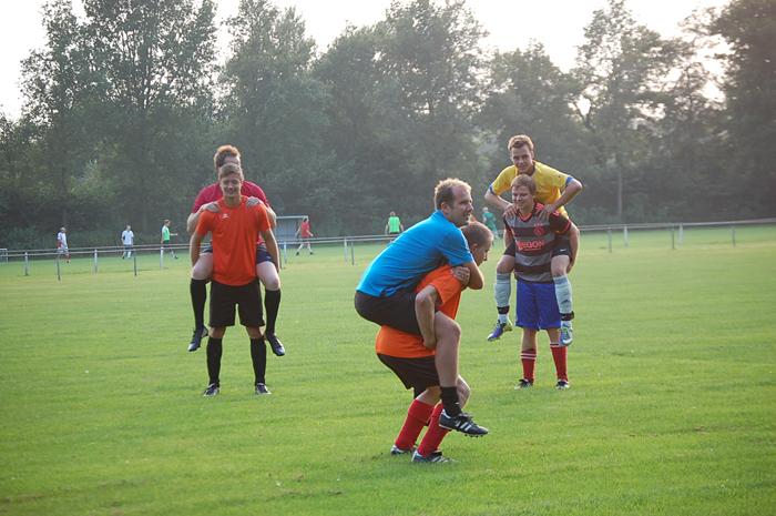Ben Ribberink training