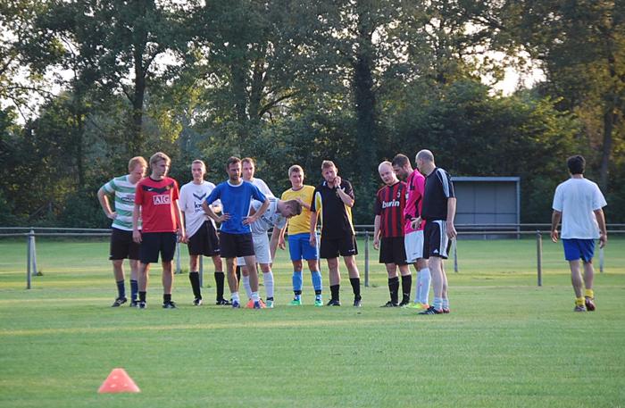 Bert Wiebing training